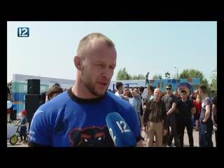 Александр шлеменко открыл новую спортплощадку в амуре