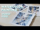 LIFE OF AN ARTIST Sketching for an Exhibition [Ep. 1]