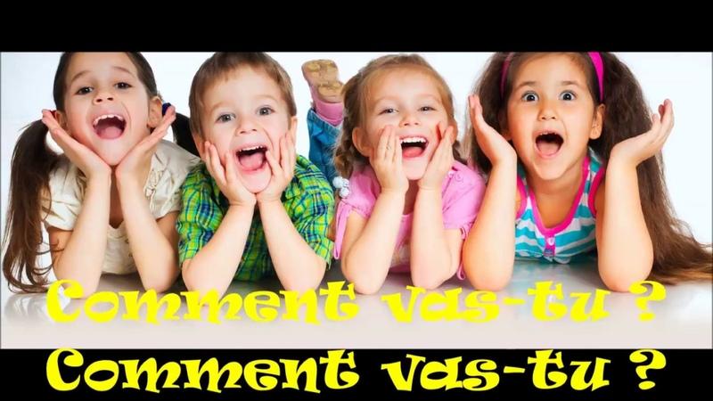 Bonjour, salut comment ca va | chanson des salutations pour enfants | Le français
