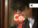 1996 John Cooper Clarke, Nick Cave, at London Poetry Reading