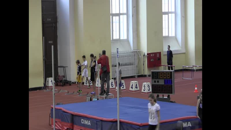 Финал 60м Матвей и Ярослав Первенство области