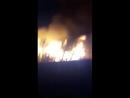 Пожар Горит большой дом каменный ручей
