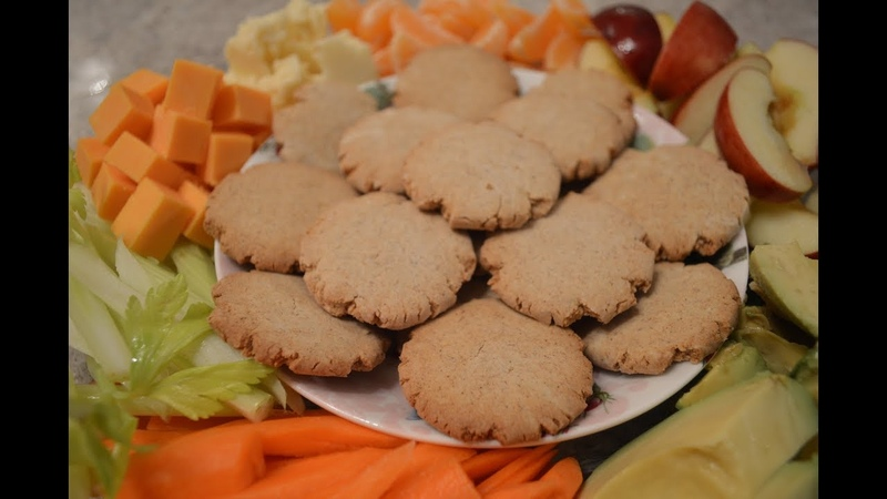 Melt-In-Your-Mouth Gluten-Free Tiger Nuts Crackers Cooking with Kimberly