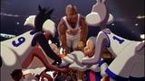 Подготовка и выход команд на площадку Космический джем (1996) Full HD 1080p