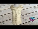 Blouse top femme crochet Woman top all sizes crochet english subtitles