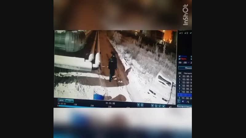Кража труб в Якутске.