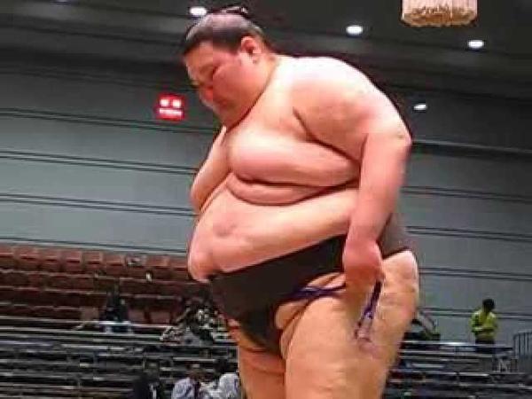 大相撲 デカすぎ! 大露羅