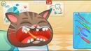 Мультик про Котика Bubbu 10 Лечим котенка Бубу Мультфильмы для детей – мой виртуальный питомец
