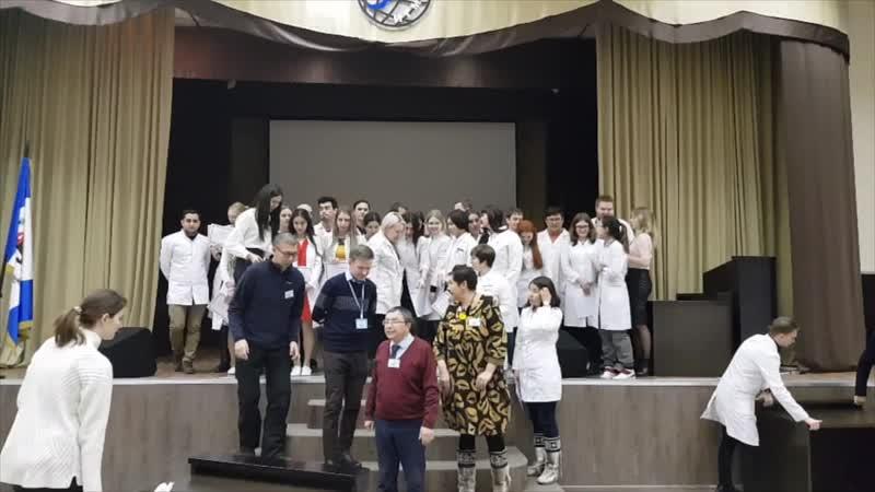II Байкальская студенческая олимпиада по психиатрии и неврологии, посвященная столетию со дня основания ИГМУ