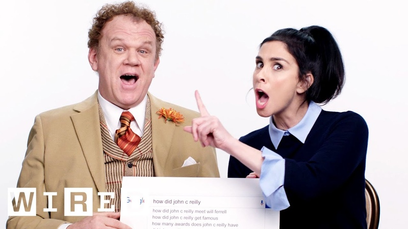 Sarah Silverman John C. Reilly Answer the Web's Most Searched Questions   WIRED