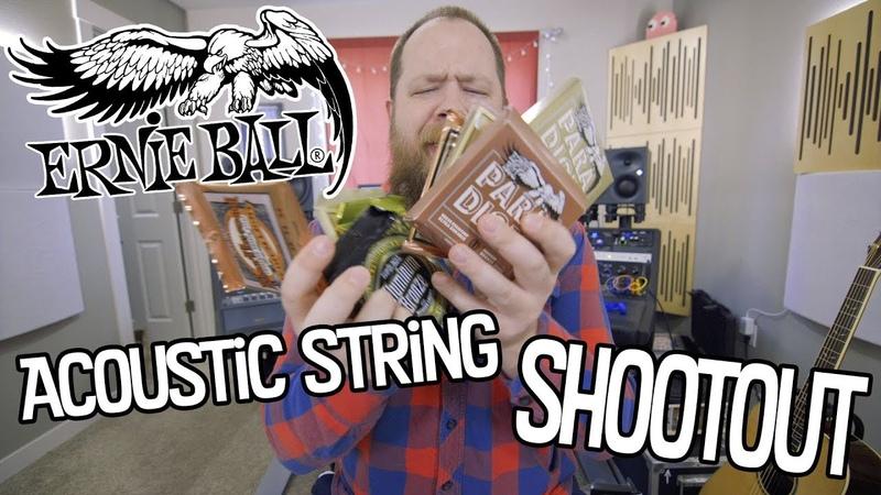 Ernie Ball Acoustic String Shootout