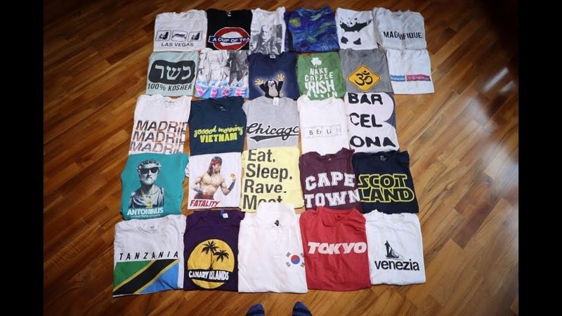 Как я распродал свои футболки из Орла и Решки на благотворительной барахолке.