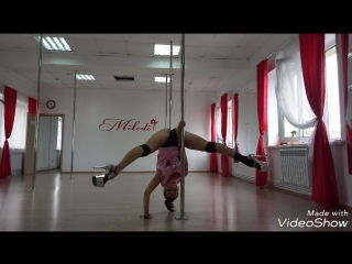 Exotic Pole Dance | Malenkih Diana