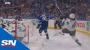 Sharks' Brent Burns Forced Into Horrible Turnover Allows Ivan Barbashev To Score