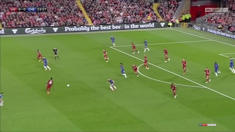 Кубок Лиги 2018-19 / 3-й раунд / Ливерпуль - Челси / 1 тайм