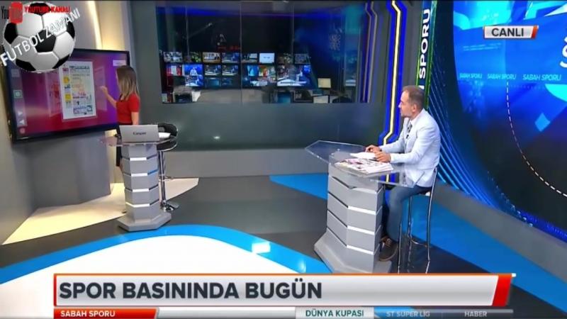 FENERBAHÇE Sabah Sporu ¦ Cocu, Aykut Kocaman, Van Ginkel Yorumları 24 Haziran 2018