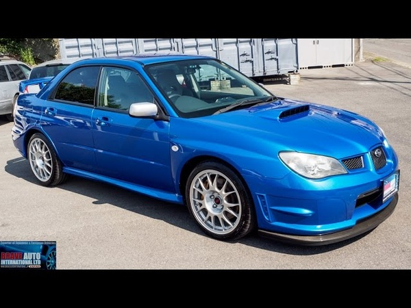 Walk Around - 2006 Subaru Impreza WRX STi S204 - Japanese Car Auctions