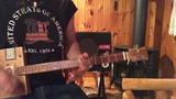 Iron Man lesson for 3 string Cigar Box Guitar