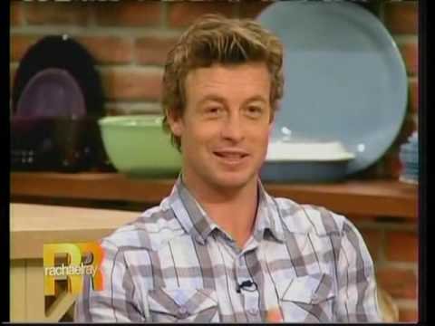 Simon Baker - Rachael Ray Show Part 1
