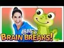 Jaime's Brain Breaks | 10. Little Green Frog