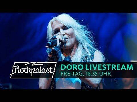Doro LIVESTREAM Rockpalast 2018 Summer Breeze