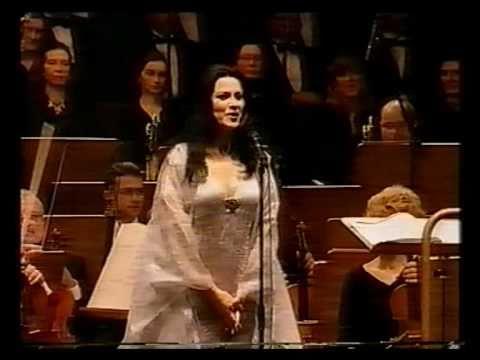 Angela Gheorghiu - Un ballo in maschera: Morro, ma prima in grazia - Lisbon 2002