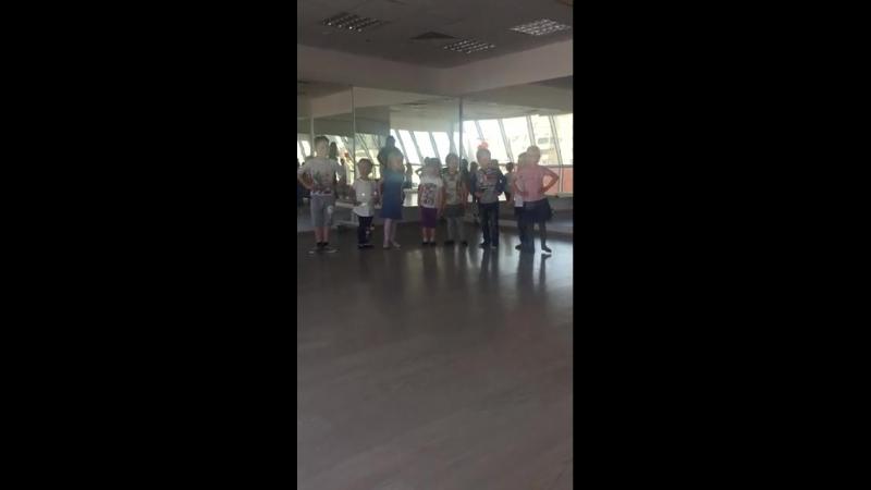 Бекстейдж с хореографии. Младшие.mp4