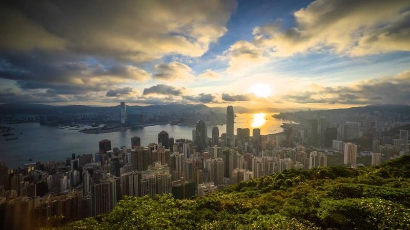 Hong Kong sunrise 07/06/2015 timelapse