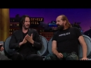 The Late Late Show 2018 Keanu Reeves, Peter Stormare swedishdicks