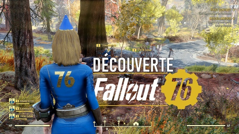 FALLOUT 76: Gameplay découverte exclusif!