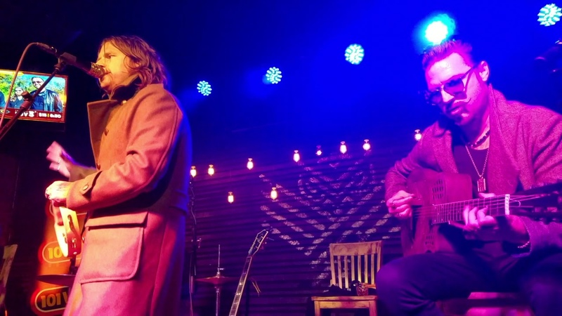 Rival Sons Acoustic Set 25 Oct 2018