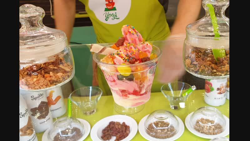Йогурт-бар Yogi в ТРК Фокус