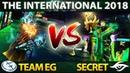 EG vs SECRET - MOST EPIC SERIES OF THE DAY! The International 2018 Dota 2 TI8