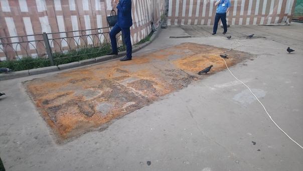 Вот, что остаётся при демонтаже туалета  19 июня 2018