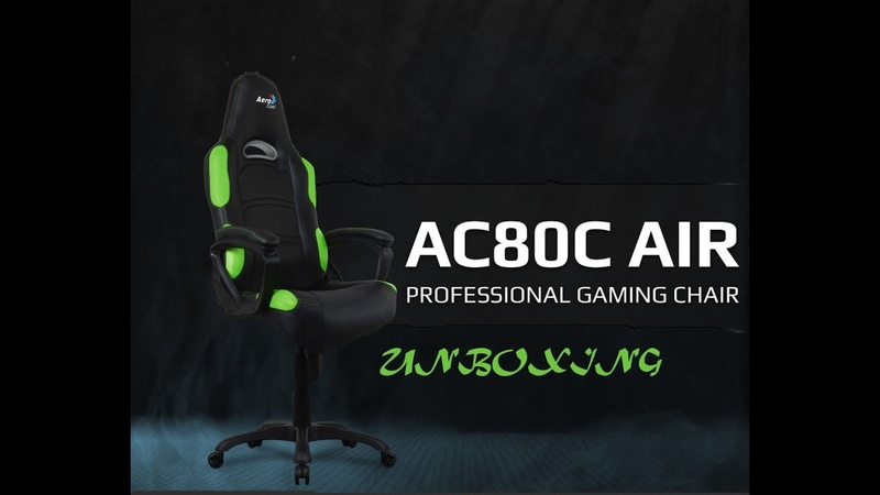 Unboxing Professional Gaming Chair Aerocool AC80C AIR