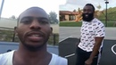 Chris Paul Has a Epic Dunk Contest at his house With James Harden there