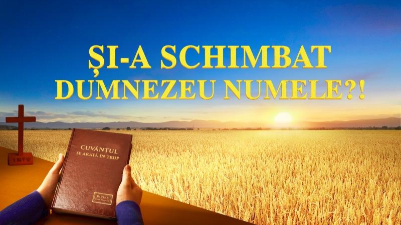 """""""Și-A Schimbat Dumnezeu Numele!"""" Dezvăluind misterul numelui lui Dumnezeu film creștin subtitrat"""