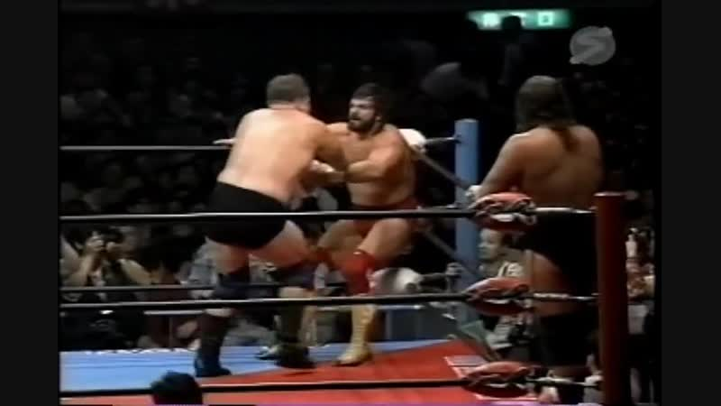 Miracle Violence Connection in AJPW 1990