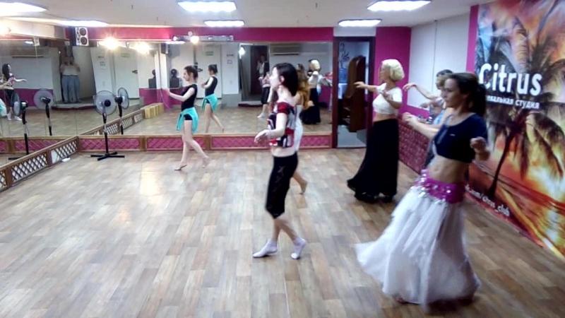 Восточные танцы тренировка