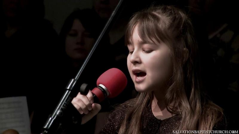 Пение «Бог мой, Ты - скала моя» — Лиана Костюкевич