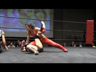 Kana, Arisa Nakajima vs. Syuri, Hikaru Shida (2/25/2015)