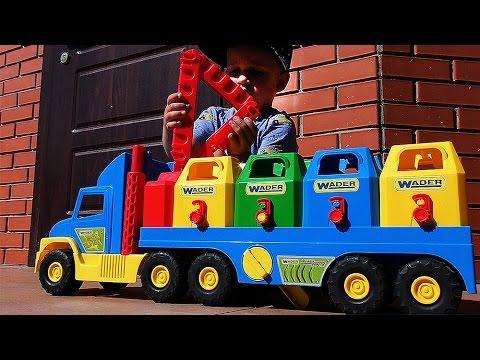 ★ ЗОМБИ Машина Zombie Zity Мусоровоз Игрушки Зомби Игры для Детей games Zombies toys Зомби против