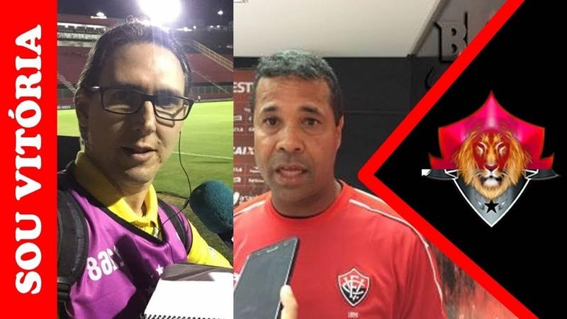 Reinaldo Oliveira entrevista Rodrigo Chagas técnico do sub-17 do VitóriaPRAIA DO FLAMENGO