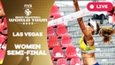 Las Vegas 4-Star - 2018 FIVB Beach Volleyball World Tour - Women Semi Final 1