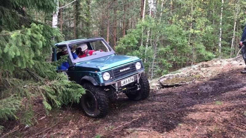 Finland, Raisio, Jeep-trial, 15.09.18, Suzuki , d2, section 3.