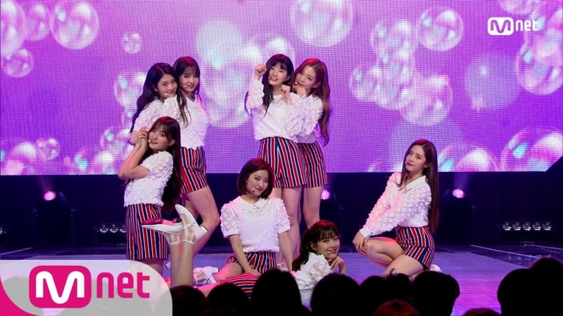 [fromis_9 - PITAPAT(DKDK)] KPOP TV Show   M COUNTDOWN 180621 EP.575