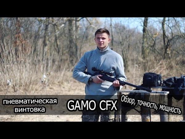 Пневматическая Винтовка GAMO CFX   Стрельба на 30м-50м   Точность   КРАШ-ТЕСТ