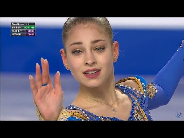 Алена Косторная. Финал Гран-при 2018 в Канаде. Произвольная программа