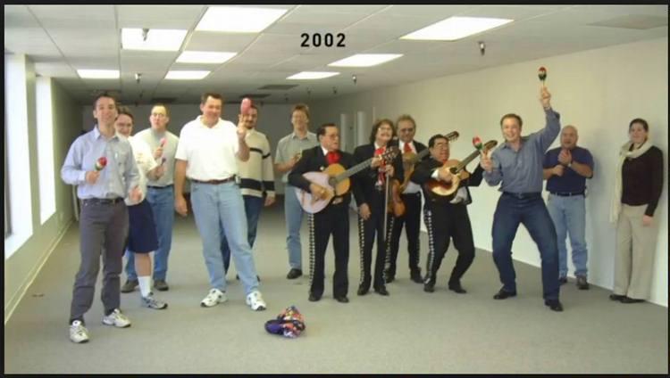 Команда SpaceX, 2002 год.<br>#интересно