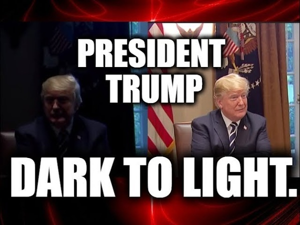 Q ANON: DARK TO LIGHT.